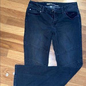 DKNY rocket jeans! girls size 16 black